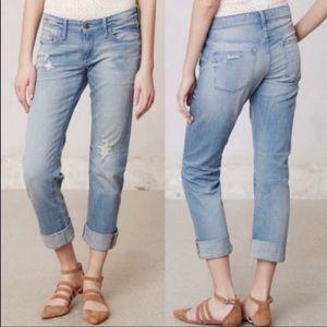 Anthropologie Pilcro Hyphen Distressed Jeans
